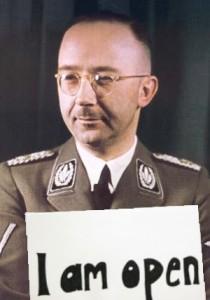 Himmler offen für alles